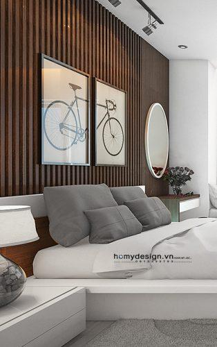 Thiết kế nội thất nhà lô phố hiện đại khu đô thị Văn Phú