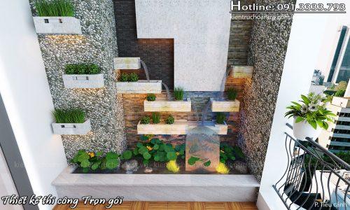 Thiết kế nội thất chung cư Royal City hiện đại tiện nghi