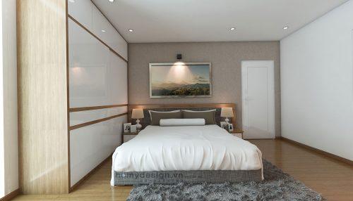 Thiết kế nội thất chung cư – Giải pháp cho căn hộ 98m2 thiếu sáng