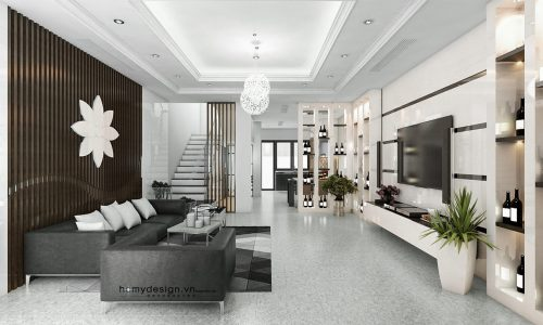 Thiết kế thi công biệt thự – nhà phố liền kề Gamuda Gardens