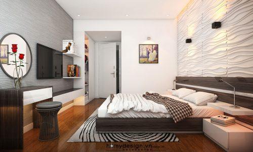 Thiết kế thi công nội thất chung cư ECOPARK – Mr Tuấn