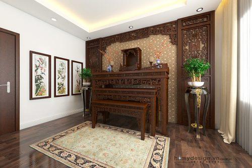 Thiết kế nội thất nhà phố lô hiện đại 4 tầng 3,6 x 8,5 M – Hà Nội