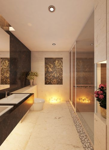 Thiết kế thi công trọn gói nội thất chung cư 57 Láng Hạ – Hà Nội