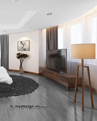 Thiết kế thi công chung cư GOLDEN PALACE Mễ Trì – Mr Hưng