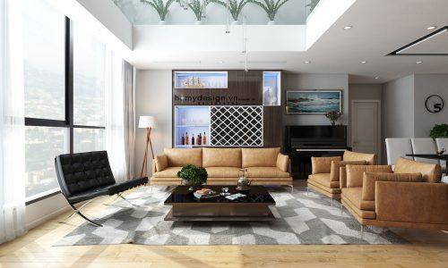 Thiết kế căn hộ Dulux Starcity thông tầng – Hòa mình vào thiên nhiên (P1)