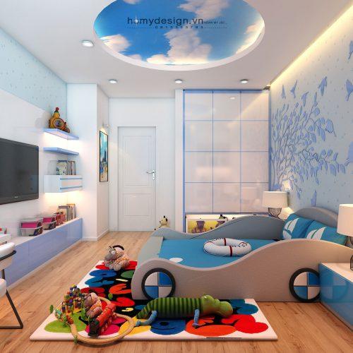 Thiết kế nội thất căn hộ Dulux Starcity – Hòa mình vào thiên nhiên (P2)