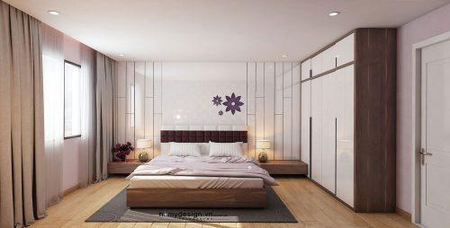 Thiết kế thi công căn hộ cao cấp TIMETOWER Lê Văn Lương