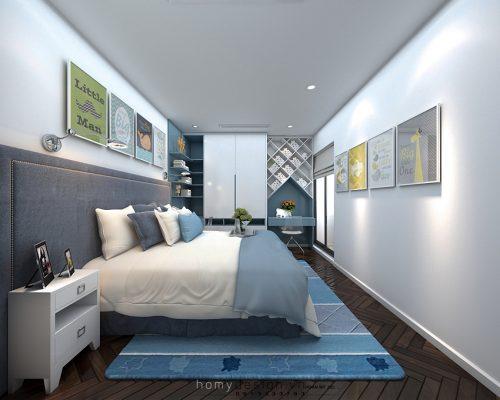 Thiết kế nội thất Chung Cư Cao Cấp Sun Grand city – Ms Quỳnh