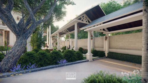 Trọn bộ thiết kế Kiến trúc Nội thất Biệt thự Tân cổ điển Hà Nội